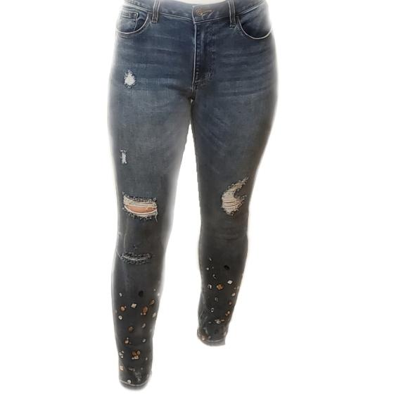 bebe - Heartbreaker Skinny Jeans